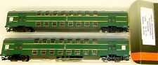Double Decker Train Set 2 Piece SZD epiii-iv Peresvet 2300 TT 1:120 HK6 Å