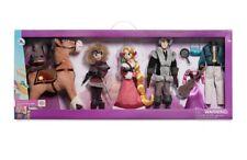 "Disney Tangled The Series Deluxe 11"" Doll Set Rapunzel Flynn Cassandra Maximus"