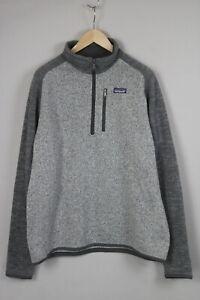 PATAGONIA STY25522 Men's X LARGE Half Zip Polyester Fleece Jumper 19698_JS
