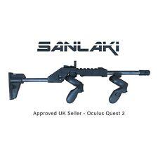Latest Sanlaki VR Rifle Gunstock - Approved Seller - for Quest 2,1,Rift S - 001
