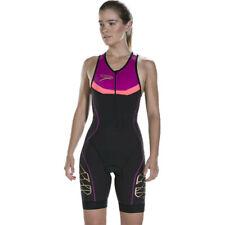 Speedo женские fastskin Фотон Tri костюм черный спорт Триатлон дышащие