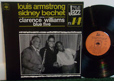 Louis Armstrong & Sidney Bechet With The Clarence Williams Blue Vinyl NM Jazz