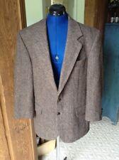 Vintage Harris Tweed Suit Coat 39R 100% Virgin Scottish Wool Herringbone