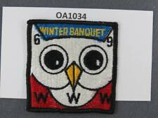 OA Lodge # 128 Kickapoo Wabash Valley Council 1969 Winter Banquet  Patch