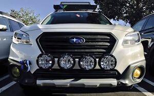 Fits 2015 Subaru Outback RALLY LIGHT BAR,(Bull Bar, Nudge Bar),4 Light Tabs