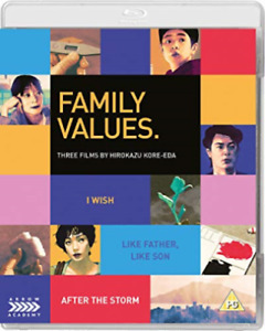 FAMILY VALUES: THREE FILMS BY HIROKAZU KORE-EDA [Blu-Ray] Like New