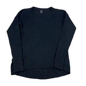 Calvin Klein Knitted Jumper Womens Medium Slight Baggy Fit Pullover Sweater