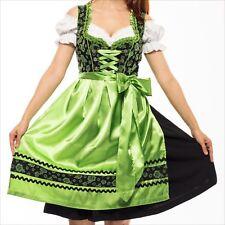 Germany,German,Trachten,Oktoberfest,Dirndl Dress,3-pc.,sz 20,Green.US Seller