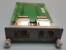 Force10 S50-01-10GE-2C 759-00031-00 S Series 2 Port 10GB Cx4 Module Card