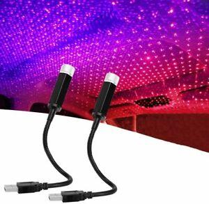 Atmosphere USB Roof Car Star Ceiling Lamp Night Romantic Lights LED Sky Laser