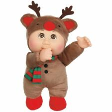 Cabbage Patch Kids Cuties Doll Holiday Helpers Collection Cocoa Reindeer