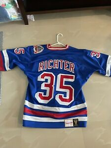 mitchell and ness mike richter 1994 new york rangers jersey size 44 large
