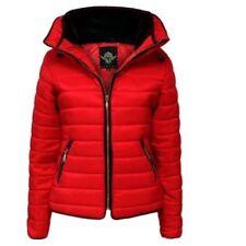 Manteaux, vestes et tenues de neige rouges en polyester pour fille de 2 à 16 ans