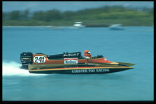606007 Competitor In Annual Powerboat Race Bermuda A4 Photo Print