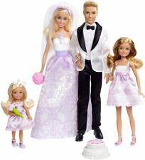 Mattel Barbie Coffret Mariage Lot de 4 Poupées (DJR88)