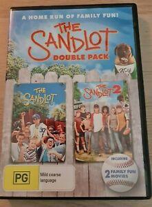 The Sandlot Double Pack DVD Region 4 PAL   Home Run of Family Fun