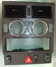 Mercedes R170 SLK230 96-04 Center Dash CARBON TRIM Bezel 1706800936 (#159)