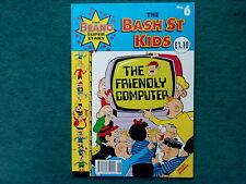 THE BASH STREET KIDS COMIC NO 6 - THE FRIENDLY COMPUTER - THE BEANO SUPERSTARS