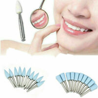 10 x Blue Dental for Low-speed Composite Polishing Grinding Head Polisher