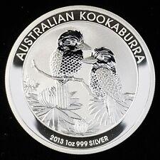 New Listing2013 P Australia $1 One Dollar Kookaburra 1oz .999 Silver Bullion Coin ©Au1381