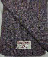 Harris Tweed Fabric /& labels 100/% wool Craft Material various Sizes code.sep67