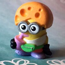 Despicable Me Mineez Series 1 RARE Cheese Festival Cheddar Head Dave 1-58