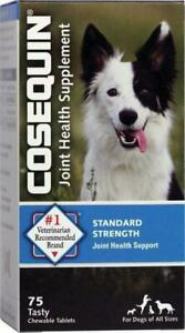 Cosequin Hip & Joint, Pain Supplement bonelets with MSM Dogs all sizes 75 ct