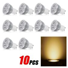 GU10 5W 10pcs/set Color Warm White LED Downlight Bulb SpotLight Lamp