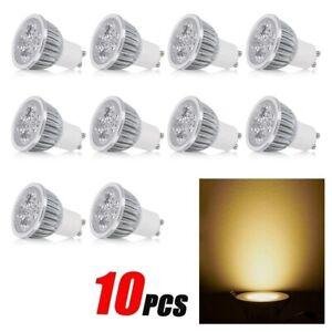 GU10 5W 10pcs/set Color Warm White LED Downlight Bulb SpotLight Lamp