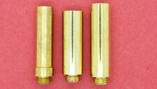 3 pc Treso Black Powder Flask Spout Set 50, 60 & 70 grain spouts Muzzleloading