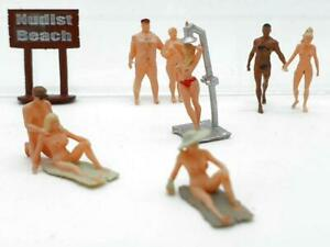 H0 1:87 Spur Figuren Iberplace 30002 Strand Nudisten FKK Modellbau Zubehör