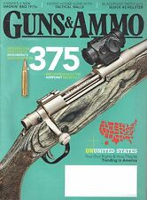 Guns & Ammo September 2015 375 Ruger and introduces the AIMPOINT Micro H-2