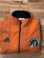 Adidas Equipment 101st Boston Marathon 1997 Reflective Windbreaker Mens Size L