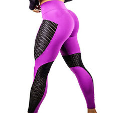 Mujer Yoga transpirable Leggings pantalones Fitness Deporte Gimnasio JOGGING