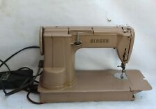 New ListingVintage Beige Sewing Machine Portable Singer 301A (w/ American Voyage Bag)