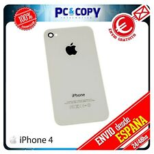 R97 TAPA TRASERA IPHONE 4 4G BLANCO CRISTAL REPUESTO BATERIA CARCASA IPHONE4