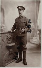 WW1 soldier 5th London Regiment London Rifle Brigade Fovant Photo by A J Bealing