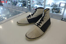 Balenciaga Blue Leather Resort Sneakers Size 10/44