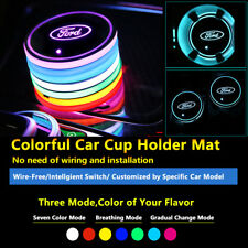1pcs Car Multicolor LED Lighting Decor Lamps Light Fit Ford Part Interior Lights