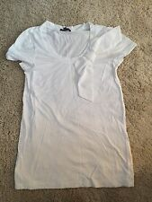 Gap, White T-shirt With Bow, S