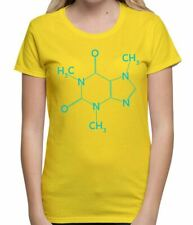 Caffeine Molecule Funny Novelty Science Computer Geek Coffee Mens T Shirt