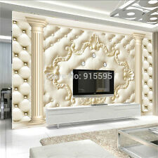 3D Wallpaper Bedroom Mural Roll Modern Luxury Embossed Background