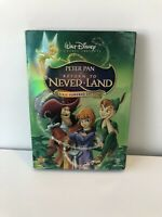 Return to Never Land (DVD, 2007, Pixie Powered Edition), Walt Disney With Sleeve