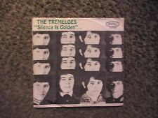 "THE TREMELOES ""SILENCE IS GOLDEN""+""LET YOUR HAIR HANG DOWN""1967 W/PS OOP EX/GD+"
