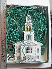 1994 Shelia Old First Church Bennington Vermont Ofc01 With Box Free Shipping