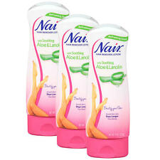 NEW! Nair Hair Remover Lotion Aloe & Lanolin (9 oz., 3 pk) for Legs and Body