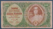 AUTRICHE - 50 000 KRONEN Pick n° 80. du 2-1-1922. en TTB   1375 015454