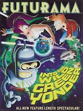 Futurama: Into the Wild Green Yonder [DVD] NEW!