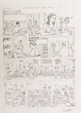 PLATEAU Alix Néron planche originale 14