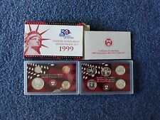 COMPLETE 1999 SILVER  PROOF SET